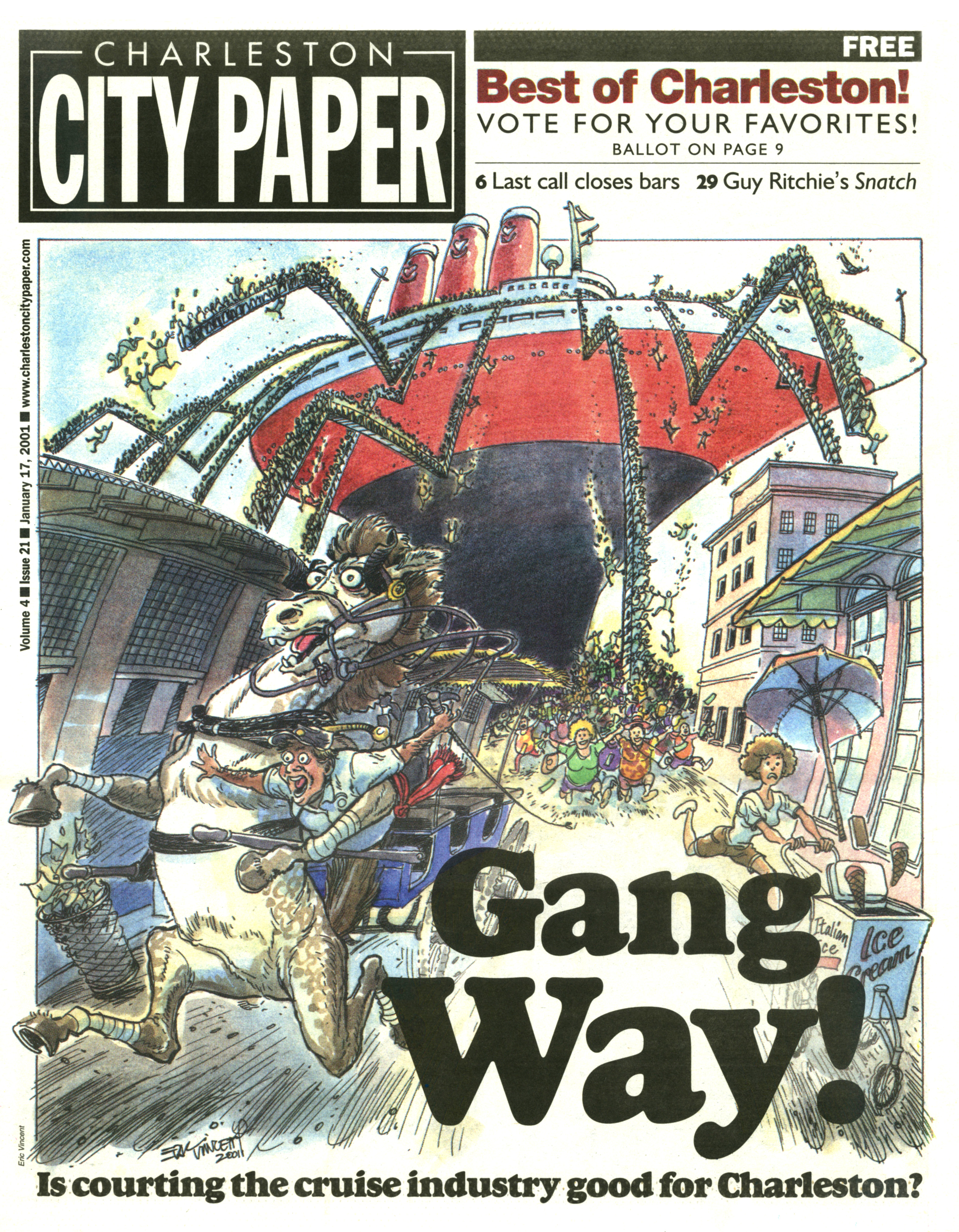 City Paper Gangway
