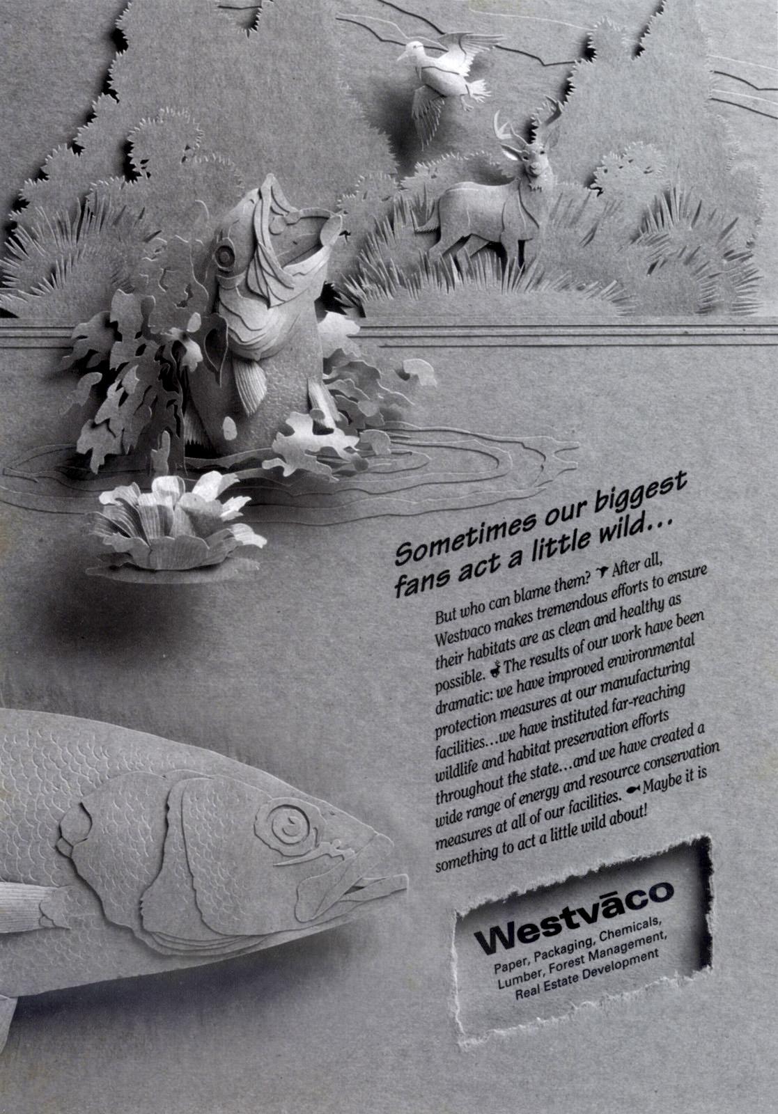 Westvaco Wild Craftpaper Campaign
