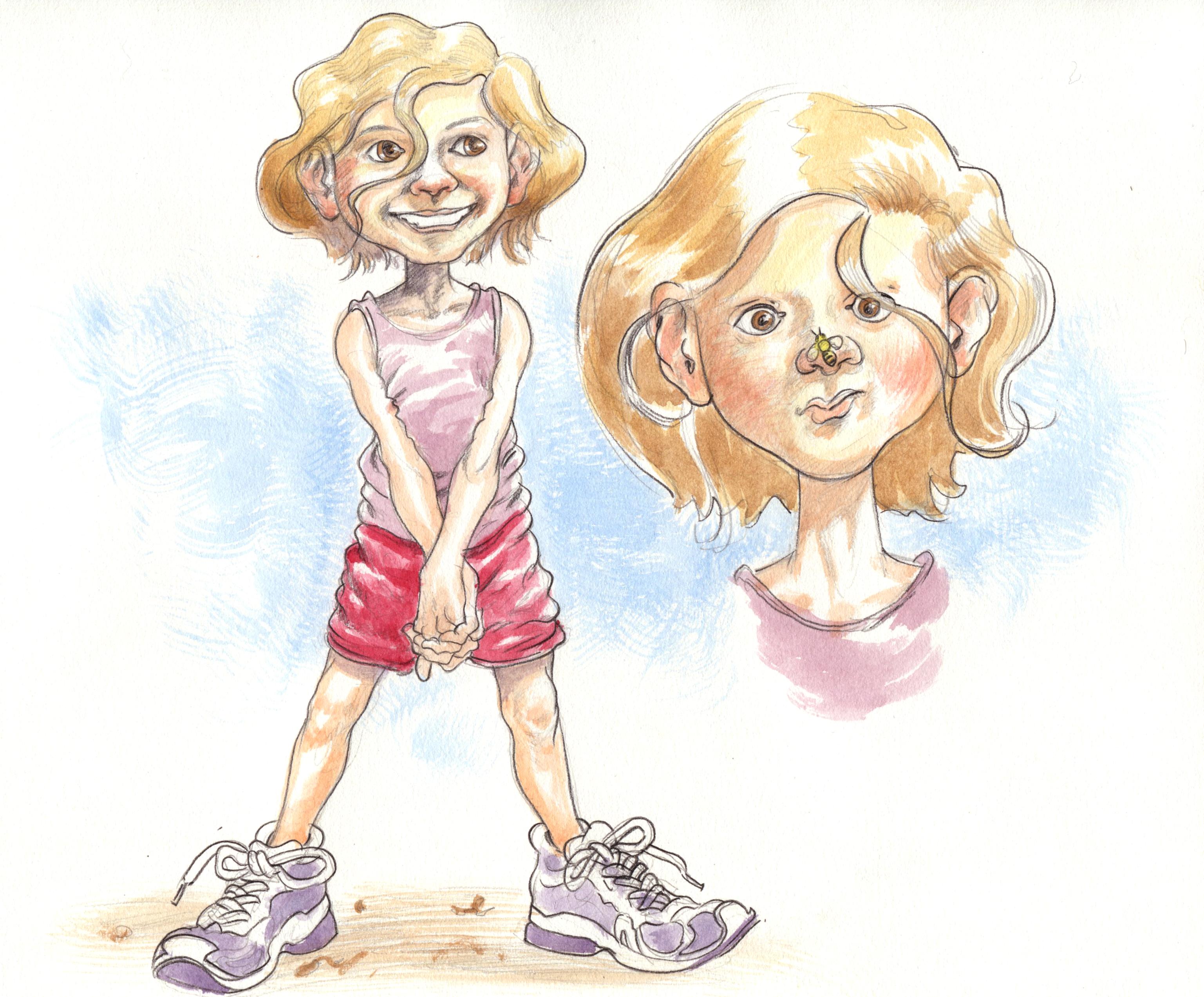 Children's Book- little girl