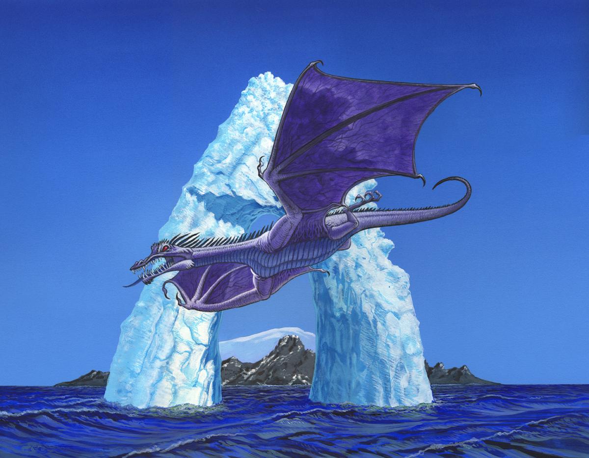 Ice Dragon small