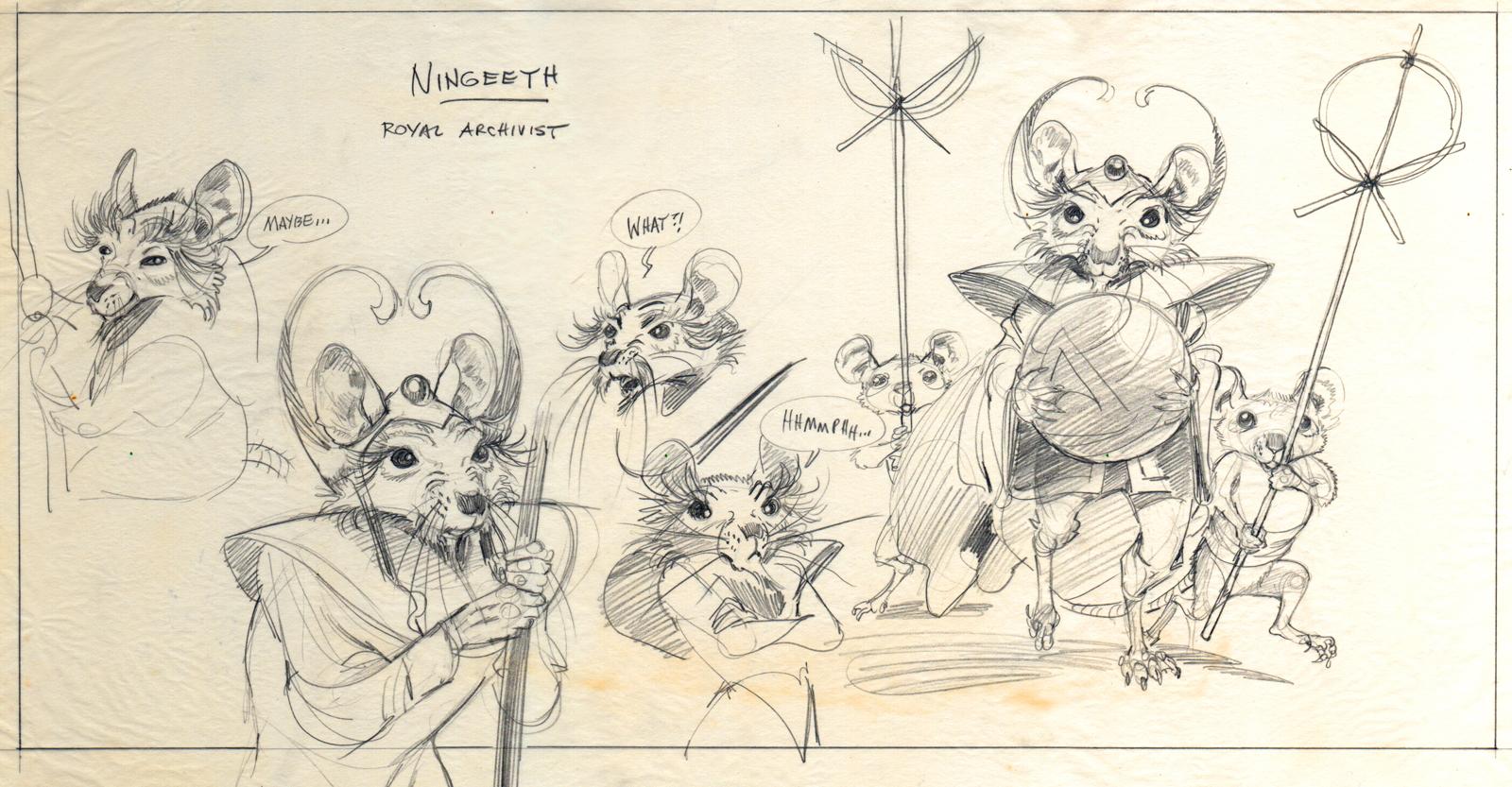 NS Ningeeth design