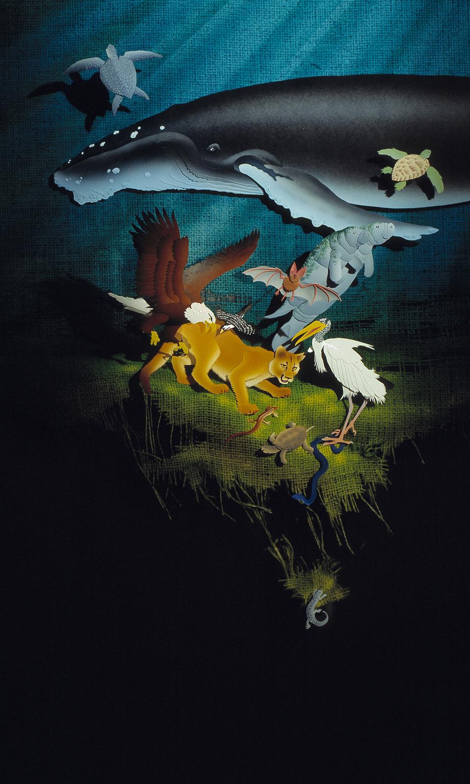 Santee Cooper Extinction Essay Contest Poster